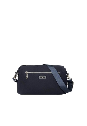 Pierre Cardin navy Pierre Cardin Premium Medium Crossbody Bag A1F1DACB0A7158GS_1