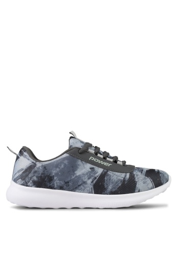 Power grey Power Athletic Casual Shoes 0A06CSHB95CE38GS_1