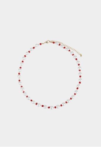 Pomelo multi Sustainable Set of 5 Necklaces - Multi Color 74788ACF71E1CBGS_1