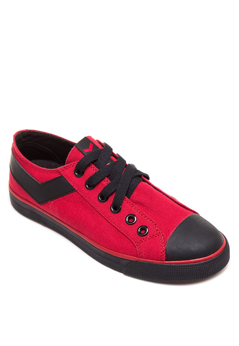Shooter Elastic Lace-up Sneakers