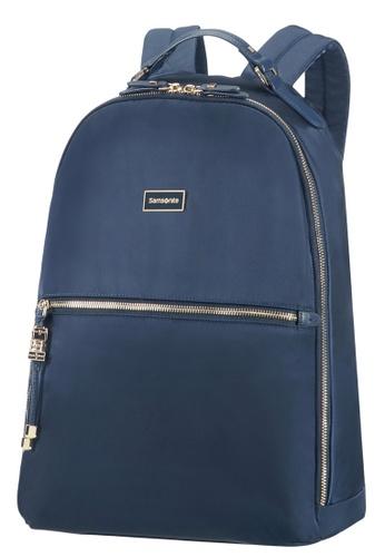 """Samsonite navy Samsonite Karissa Biz Backpack 14.1"""" SA186AC0GMZVSG_1"""