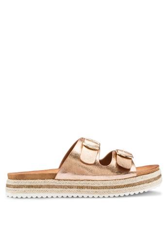 3eecf4ac5fb Buy Carlton London Slip On Double Strap Sandals Online on ZALORA ...