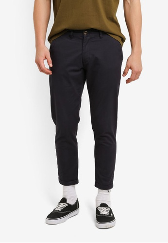 Sparrow Green navy Walter Tapered Pants SP065AA0RUBZMY_1