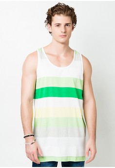 Exchange Striped Tank