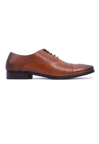 Hanson Bootmaker brown Hanson Bootmaker LacEasy Oxford - Tan 8AC30SH6881FC5GS_1