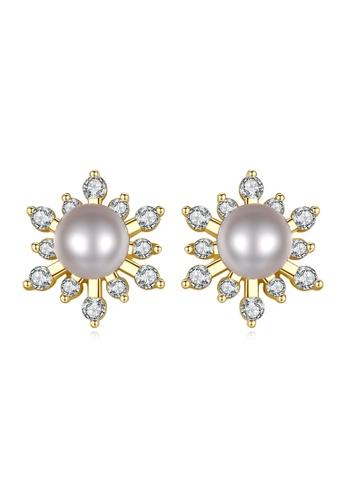 A.Excellence white Premium White Pearl Elegant Earring 4CC00AC701A847GS_1