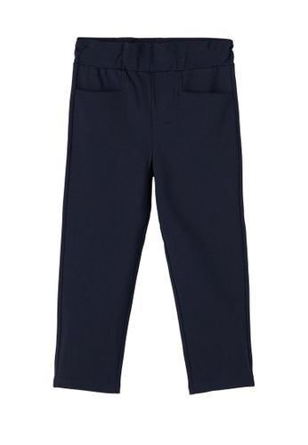 NAME IT navy Ida Elastic Ankle Pants 36447KAEA909A4GS_1