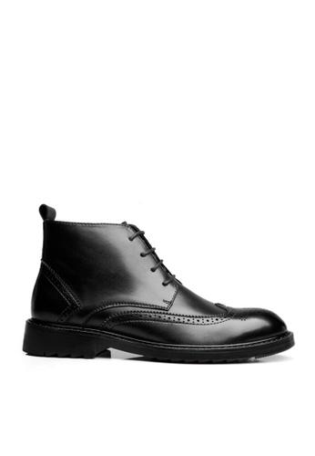 Twenty Eight Shoes black Classic Brogue Mid Boots VMB8305 EE4F0SHEA9FF5AGS_1