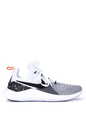 Nike black and white Women's Nike Free TR 8 Training Shoes F2A9ESHF1F4D1CGS_1
