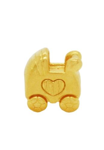 LITZ gold [Free Bracelet] LITZ 999 (24K) Gold Baby Stroller Charm EPC0013 12955ACCCB0BC4GS_1