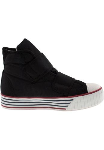 Maxstar black Maxstar Women's C30 Dual Velcro Platform Canvas Sneakers US Women Size MA164SH08PTZSG_1
