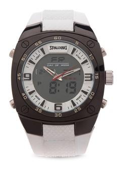Quartz Analog Digital Watch SP-048 WHT