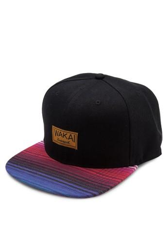 VIAJESNAPBACK 漸層撞色鴨舌帽, 飾品配件, zalora taiwan 時尚購物網飾品配件