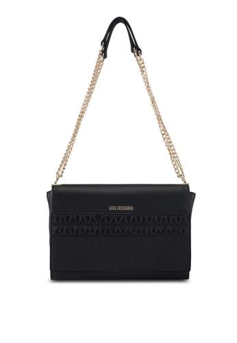 Love Moschino black LOVE MOSCHINO Shoulder Bag LO478AC0SXY6MY_1