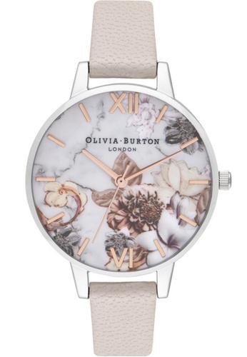 Olivia Burton pink Olivia Burton Marble Florals PEARL PINK Women's Watch (OB16CS21) CF439ACD0FDF5DGS_1