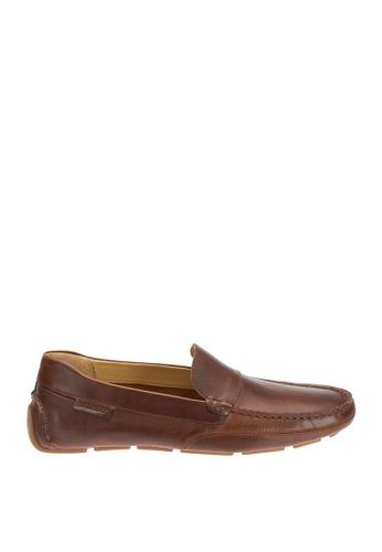 Sebago brown Kedge Venetian Driving Shoes 2E1B3SHA893161GS_1