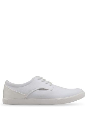 Jack & Jones white Nimbus White Canvas Sneakers D31BESHC78C544GS_1