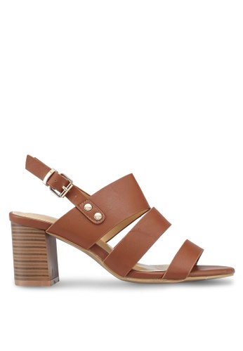 Carlton London brown Sandal Heels 7D3B2SH86B1FACGS_1