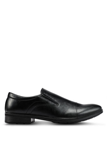 Bata black Faux Leather Dress Shoes 5B5DDSH3119F50GS_1