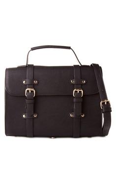 Double Strap Satchel Bag