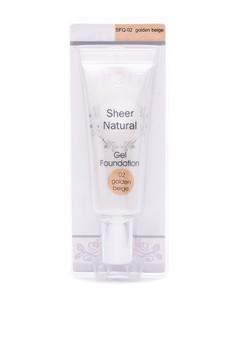 Sheer Natural Gel Foundation 01