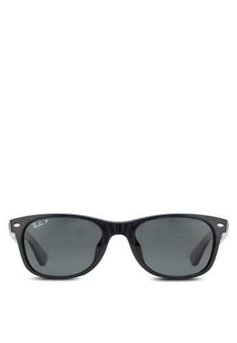 New Wayfarer Classic 偏光太陽眼鏡、 飾品配件、 飾品配件Ray-BanNewWayfarerClassic偏光太陽眼鏡最新折價