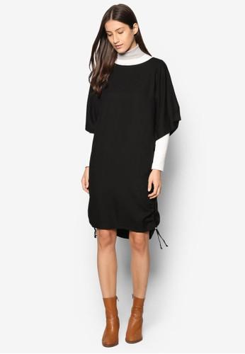 抽繩寬鬆連身裙, 服飾,esprit香港門市 服飾