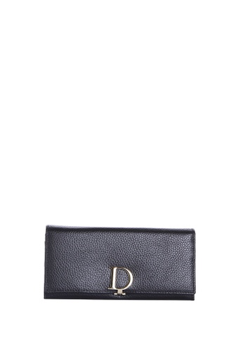 Dazz black Calf Leather D Wallet - Black DA408AC31JKIMY_1