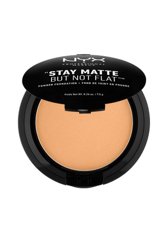 NYX Professional Makeup beige NYX Professional Makeup Stay Matte Powder Foundation-SIENNA D092ABE99828A0GS_1