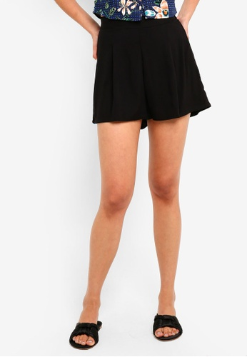Cotton On black Maya Flirty Shorts E7447AAC572718GS_1
