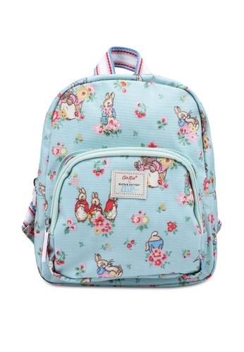 Cath Kidston green Beatrix Potter Ditsy Kids Mini Backpack 63101KC2A994B6GS_1