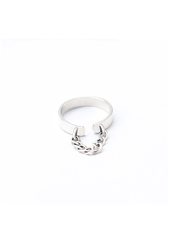A-Excellence silver Premium S925 Sliver Geometric Ring 5827EAC84FD706GS_1