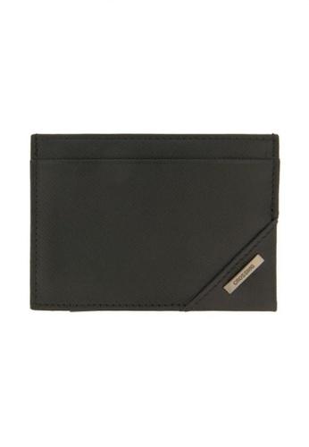 CROSSING black Crossing Riforma Bi-fold Card Case RFID - Black 24191ACC21F554GS_1