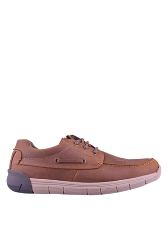 Hush Puppies brown Hush Puppies Francis Lace Up In Tan 4A680SH503449EGS_1