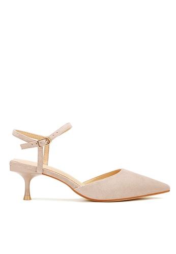 Twenty Eight Shoes beige Slingback Heel 198-30 11C18SH82F1DE8GS_1