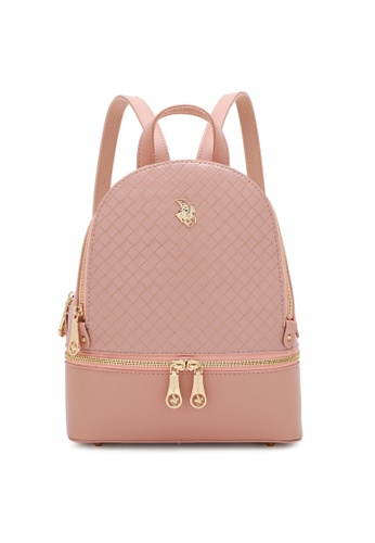 Swiss Polo pink Casual Backpack E9425AC20C764BGS_1
