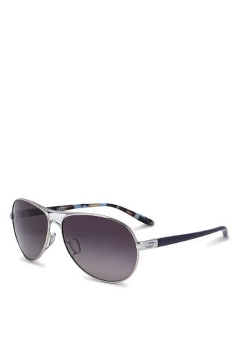 Oakley black Feedback 0OO4079 Sunglasses FC3E6GL4493E7BGS_1