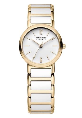 Bering gold Ceramic 30226-751 White 26 mm Women's Watch 30AE8ACB36C3DBGS_1