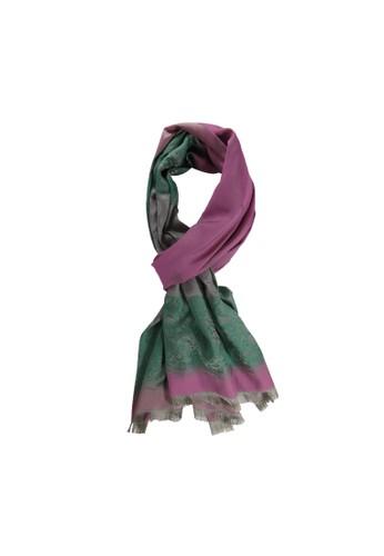 BALLIN pink and green ERROL SCIALLE PINKGREEN 961FCAAFE4CB51GS_1