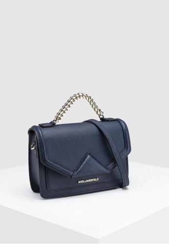 26dcc138b47c Shop KARL LAGERFELD Klassik Medium Shoulder Bag Online on ZALORA Philippines