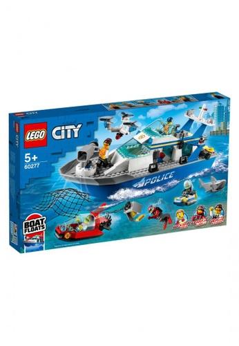 LEGO multi LEGO City Police 60277 Police Patrol Boat (276 Pieces) 31874TH59FBF6FGS_1