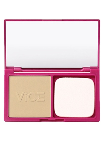 Vice Cosmetics beige Tisay Duo Finish Foundation FDF9BBEF6EFC8FGS_1