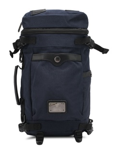 48700698a799 High Cultured navy Water-Proof Nylon Backpack HI002AC0SPDKMY 1