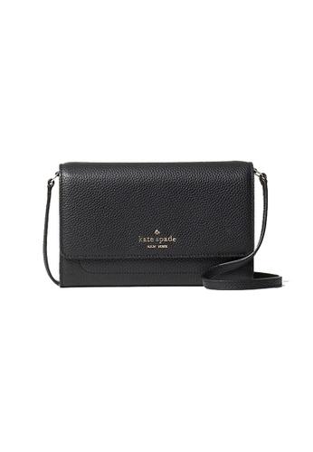Kate Spade black Kate Spade Harlow Wallet On A String WLR00081 Black 613E7ACE4C6EB1GS_1