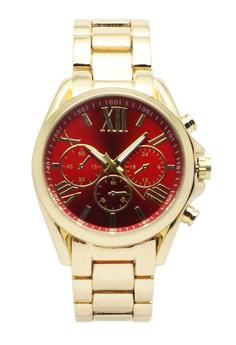 Patricia Chrono Gold Watch