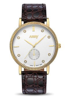 NARY Women's Casual Leather Quartz Watch - 9003