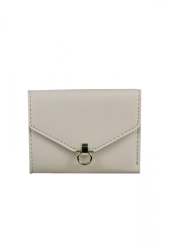 DNJ beige Wallet with Card Holder DN487AC0JI0DPH_1