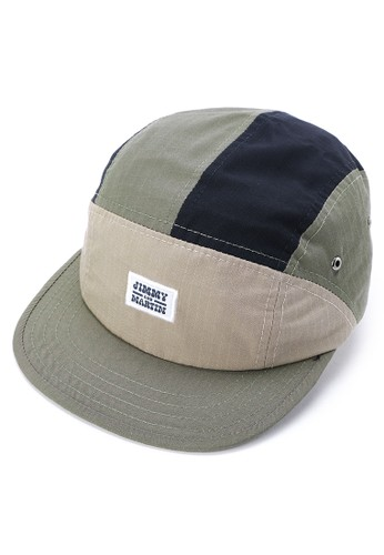Jimmy Martin green Ripstop Patchwork 5 Panel D0FA0AC9FBAC40GS_1