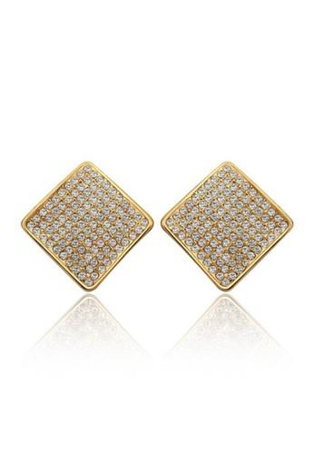 Tiaria yellow Tiaria Classic Earrings Pin Gold Plated Aksesoris Anting KRGPE828--K16 8561CACCD6AE5BGS_1