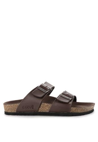 CARVIL brown Sandal Footbed Men Kenzo-02M F11C7SHBCA5509GS_1
